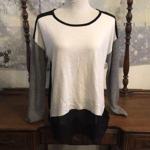 Nicole Color-block Sweater